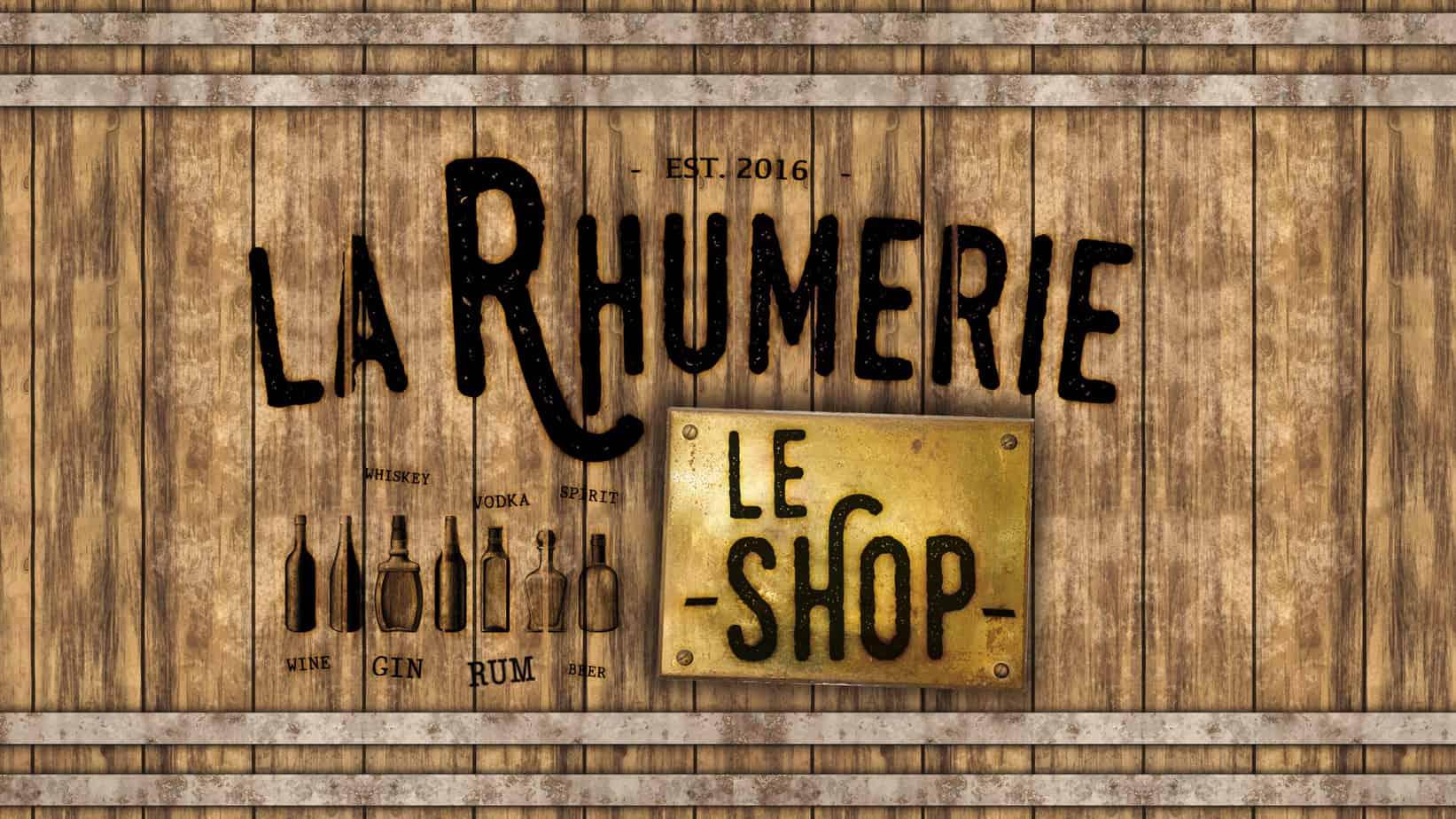 La Rhumerie - Le Shop